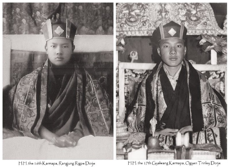 16th and 17th Karmapa